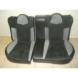 Banquette arri re sans ceintures pour peugeot 206 type rc for Interieur 206 rc