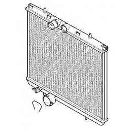 radiateur d 39 eau connectique clips pour peugeot 206 slugauto. Black Bedroom Furniture Sets. Home Design Ideas