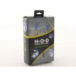 kit Ampoules xenon H3 12V / 55W + culot T10super blanc